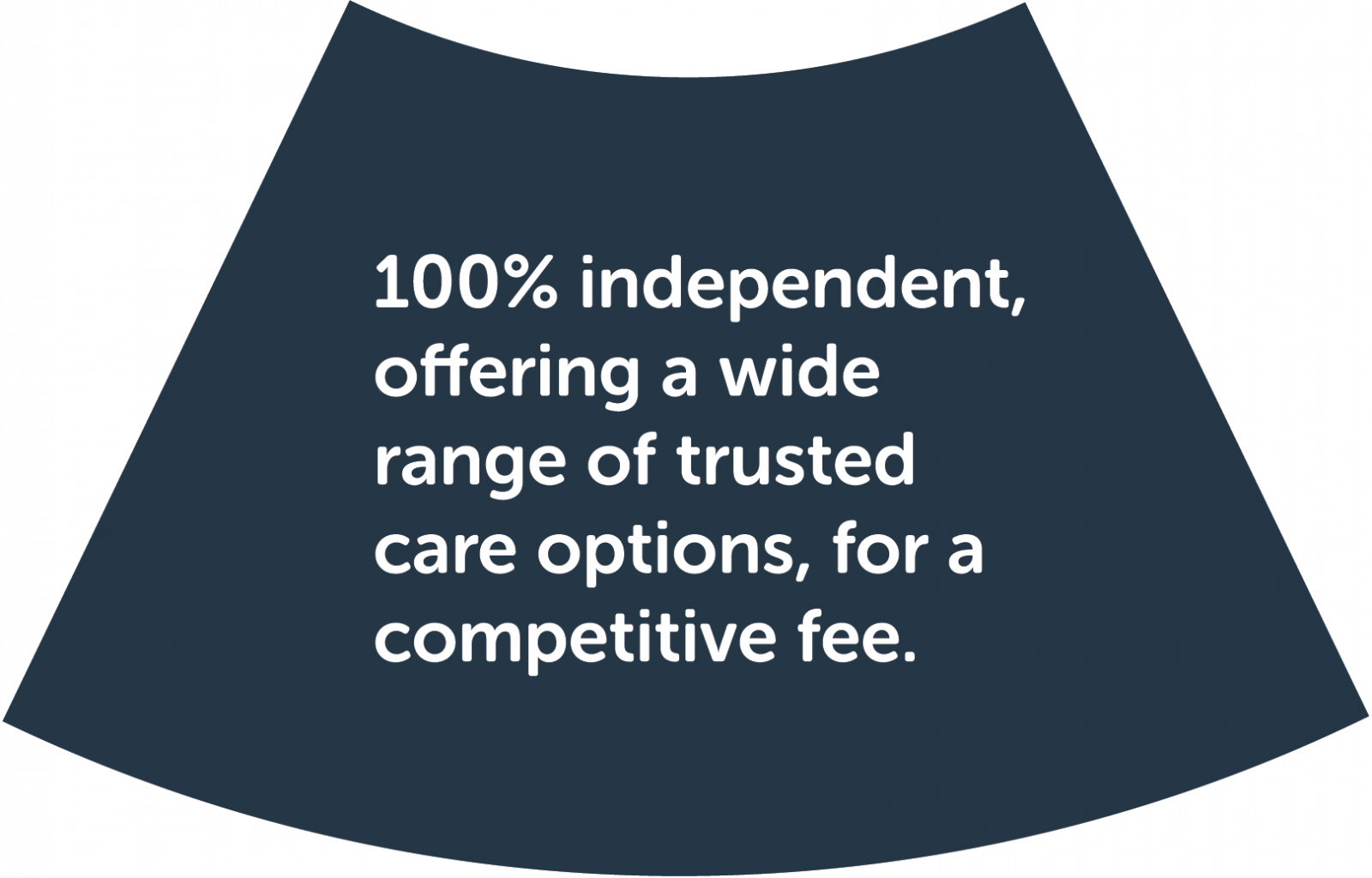 Step 4: Organise services and support. 100% independent, offering a wide range of trusted care options, for a competitive fee.
